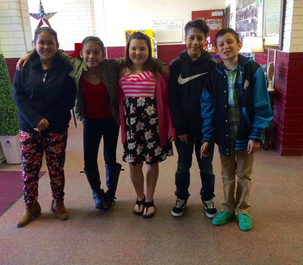 5th Grade Participants