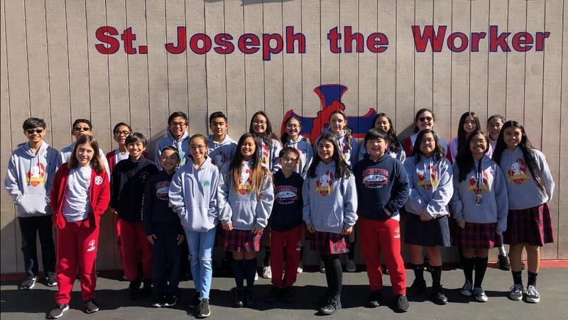 SJW Academic Deacthlon Team - 2 Top Tens! Featured Photo