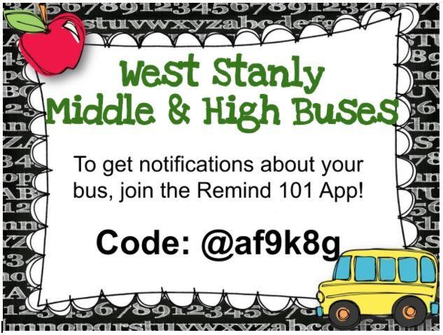 Attention Colt Families:  Join the Remind 101 App to Get Notifications About Your Bus Featured Photo