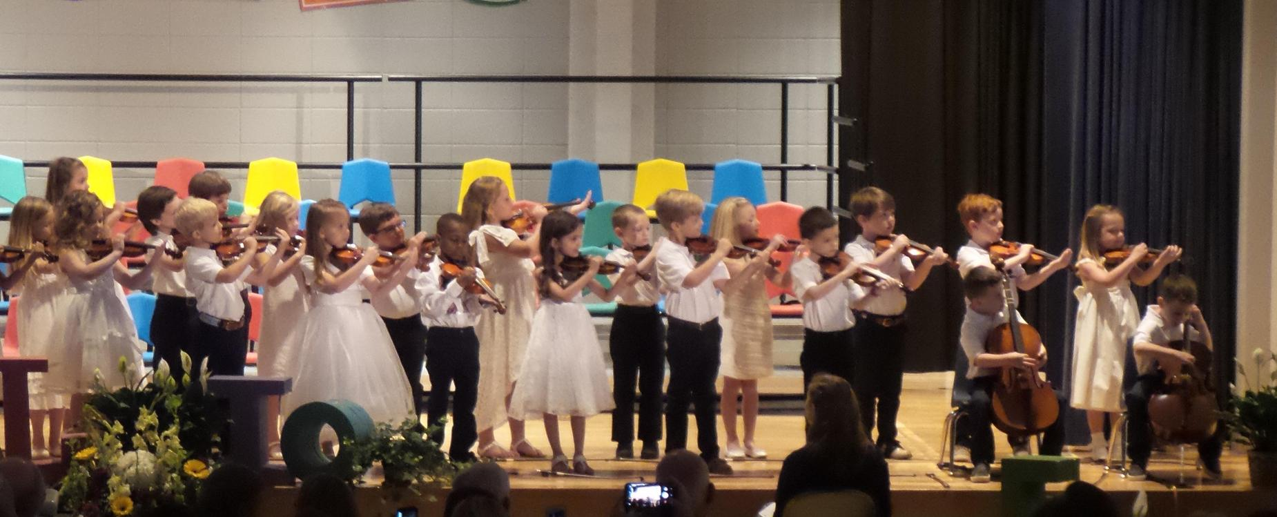 2018 kindergarten graduation
