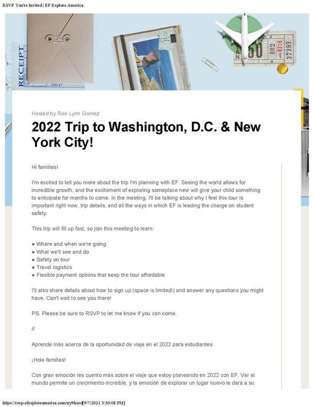 2022 trip