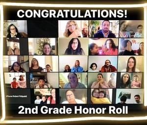 2nd grade honor roll zoom