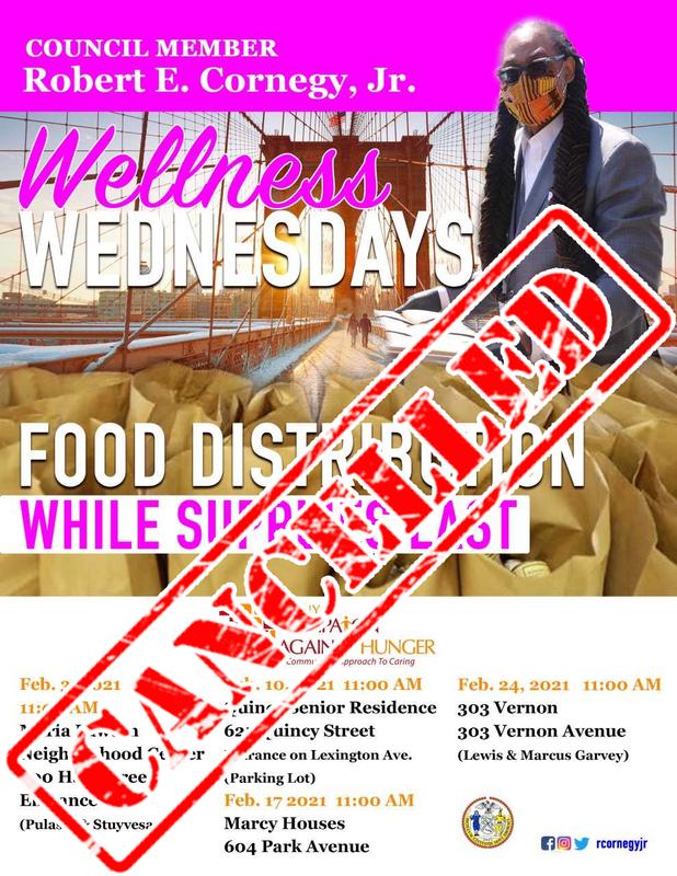 Wellness Wednesdays Feb 2021 - Cancelled