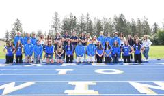 A variety of sports represented in the fall team sports photo