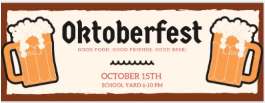Oktoberfest--October 15th--6-10pm Featured Photo