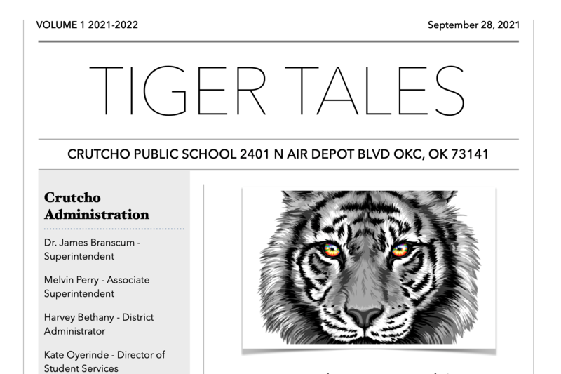 Tiger Tales & PTO Info - September 2021!! Featured Photo