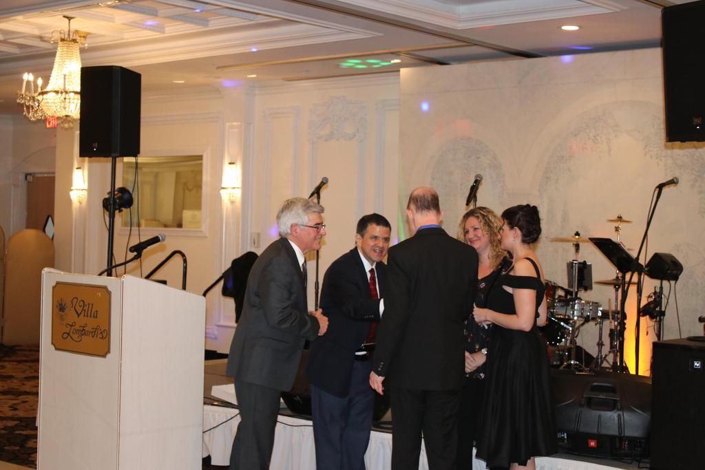 Presenters and Employer of the Year awarded