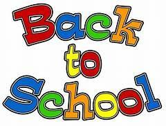 Back to School Multi-color Text