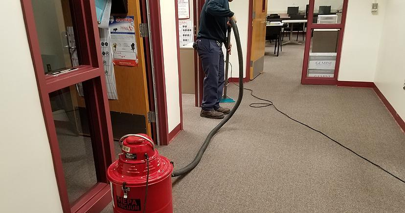 Carpet care: HEPA vacuuming after the Holy Fire