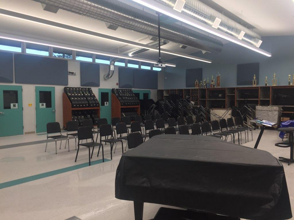 image of new music room