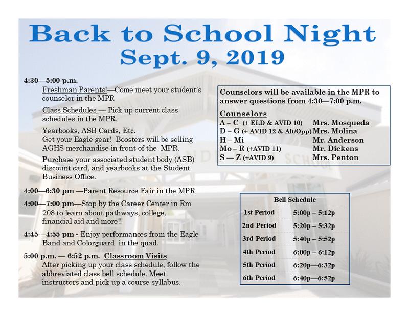Calendario 2019 Campo Grande Ms.Arroyo Grande High School
