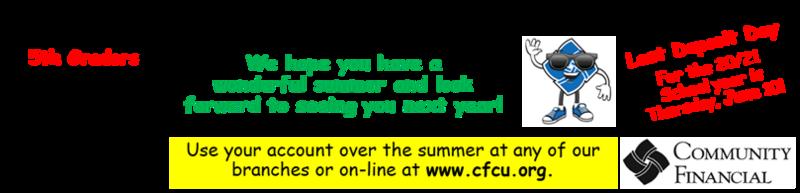 Credit Union Deposit Day June 10, 2021