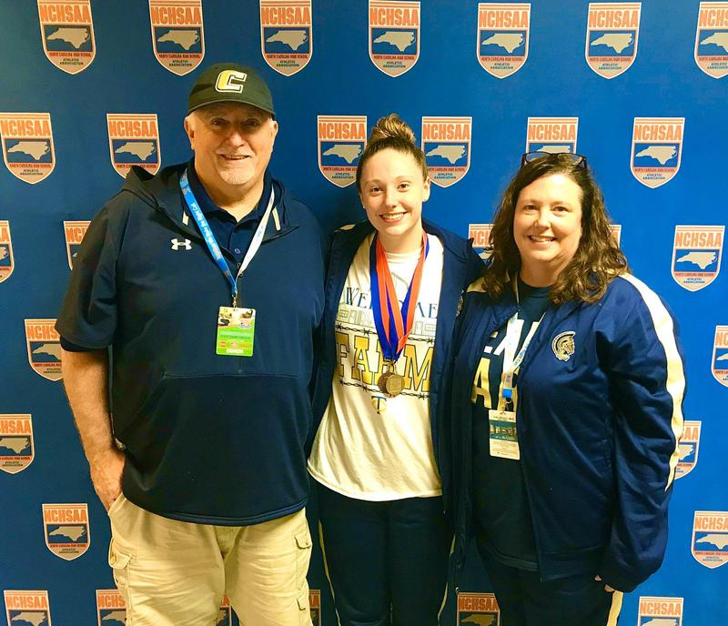 Congratulations to Jenna Bridges, State Champion Swimmer! Featured Photo