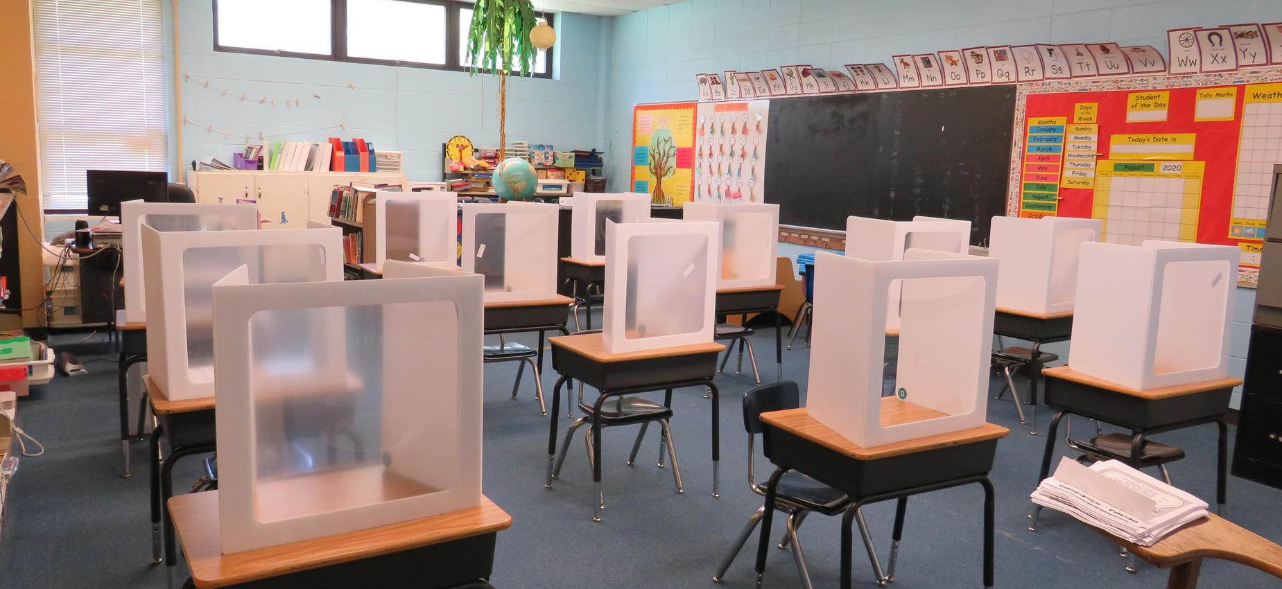 New Hebron Attendance Center Classroom