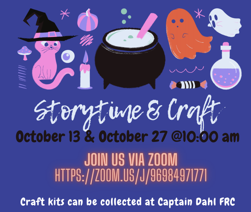 Story & Craft Time oct 2020