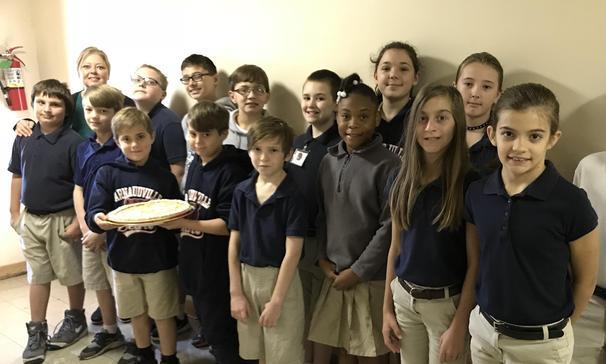 4-H Penny Drive Winner: Mrs. Boutte's Fifth Grade Class