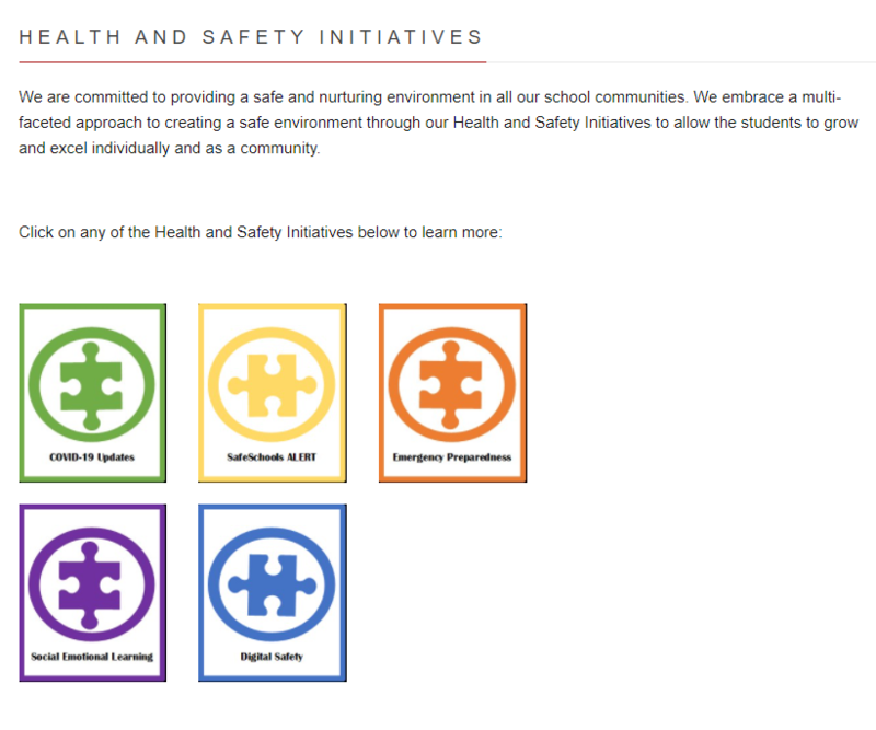 Health & Safety Initiatives