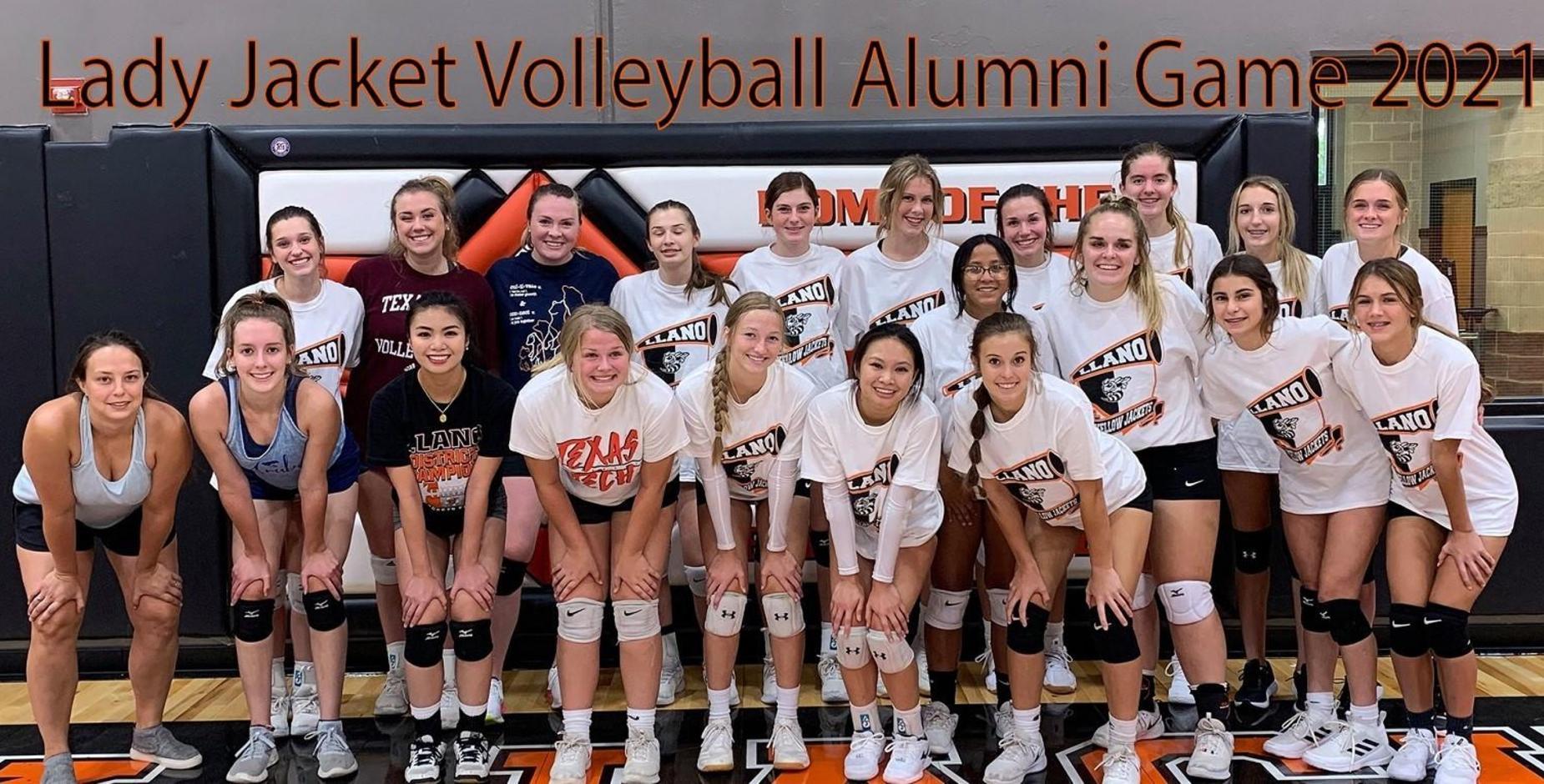 Volleyball Alumni Game 2021