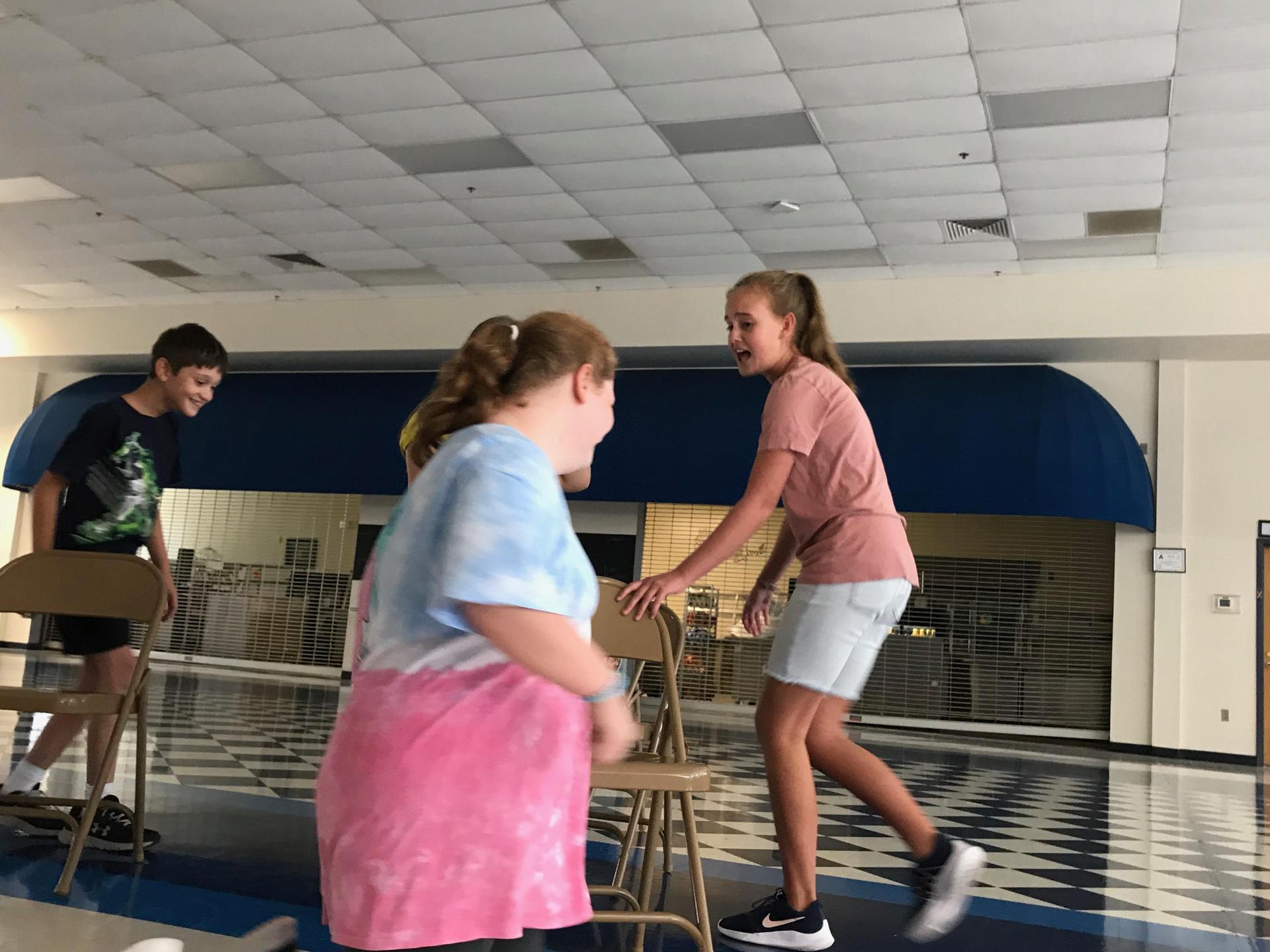 Students Acting in Jaguar Drama Club
