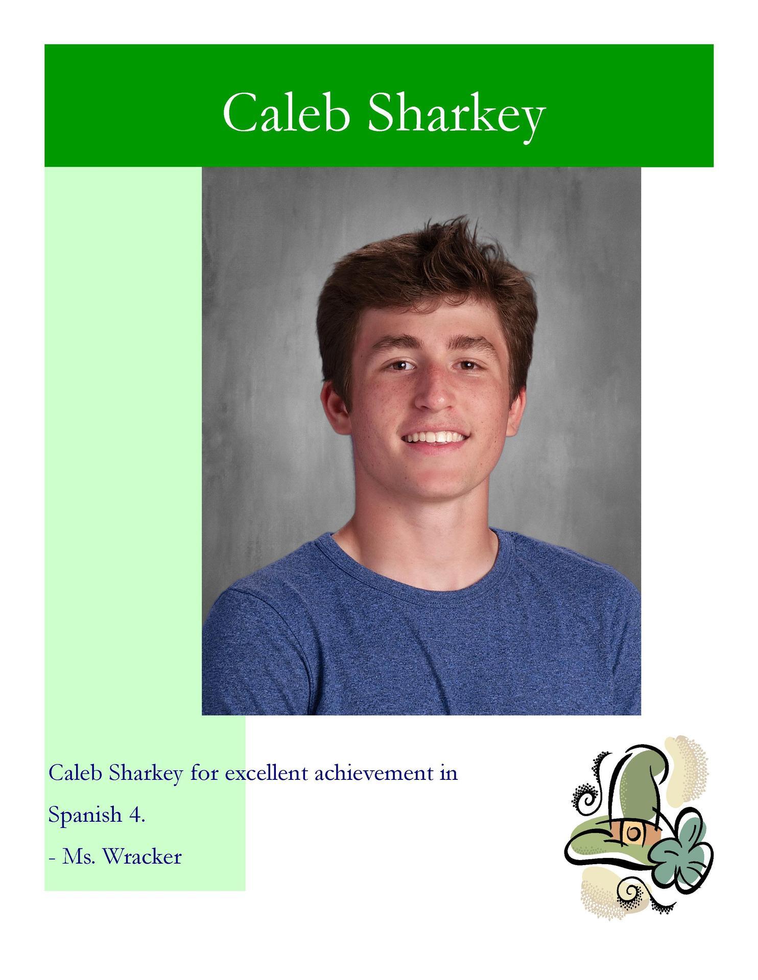Image of Caleb Sharkey