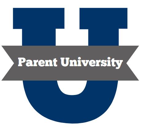 Navy blue university letter