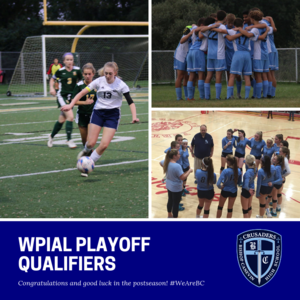 WPIAL Playoff Qualifying Teams