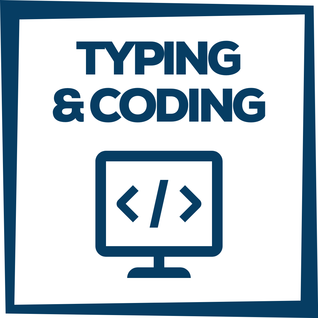 typing & coding