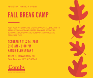 Fall Break Camp