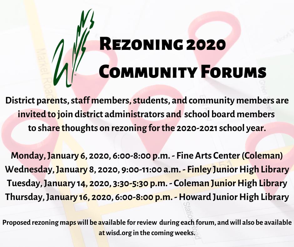 Rezoning Community Forums