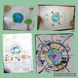 Projects for Earth day collage