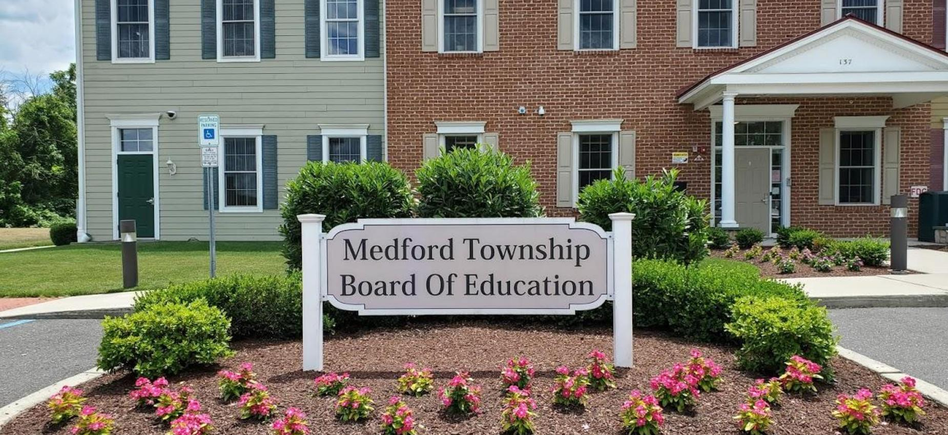 Picture of Board of Education Building Sign