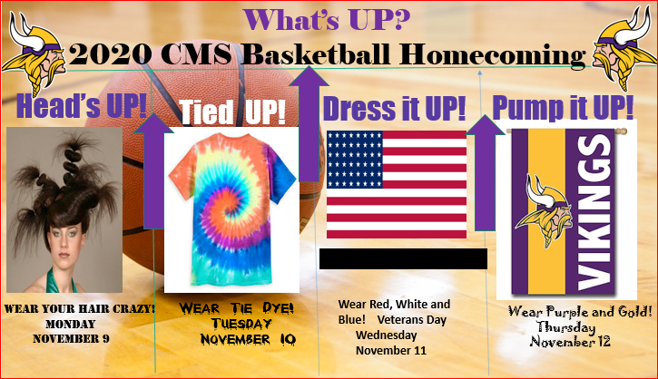 CMS 2020 Basketball Homecoming Spirit Week Featured Photo