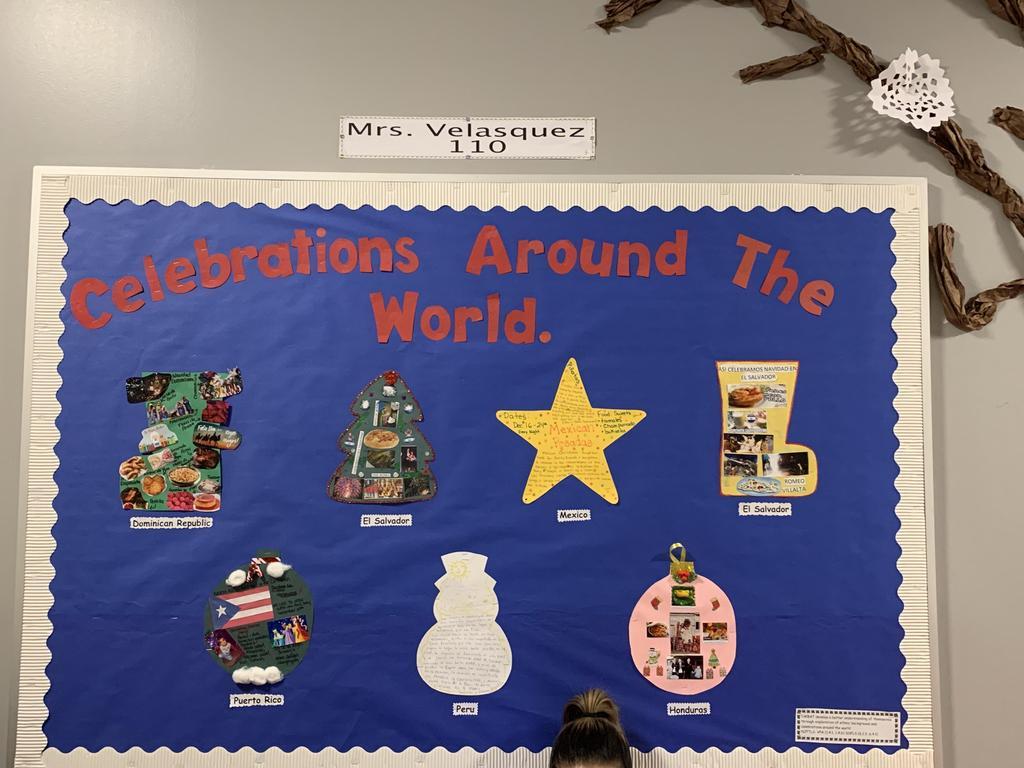 Celebrations around the world board