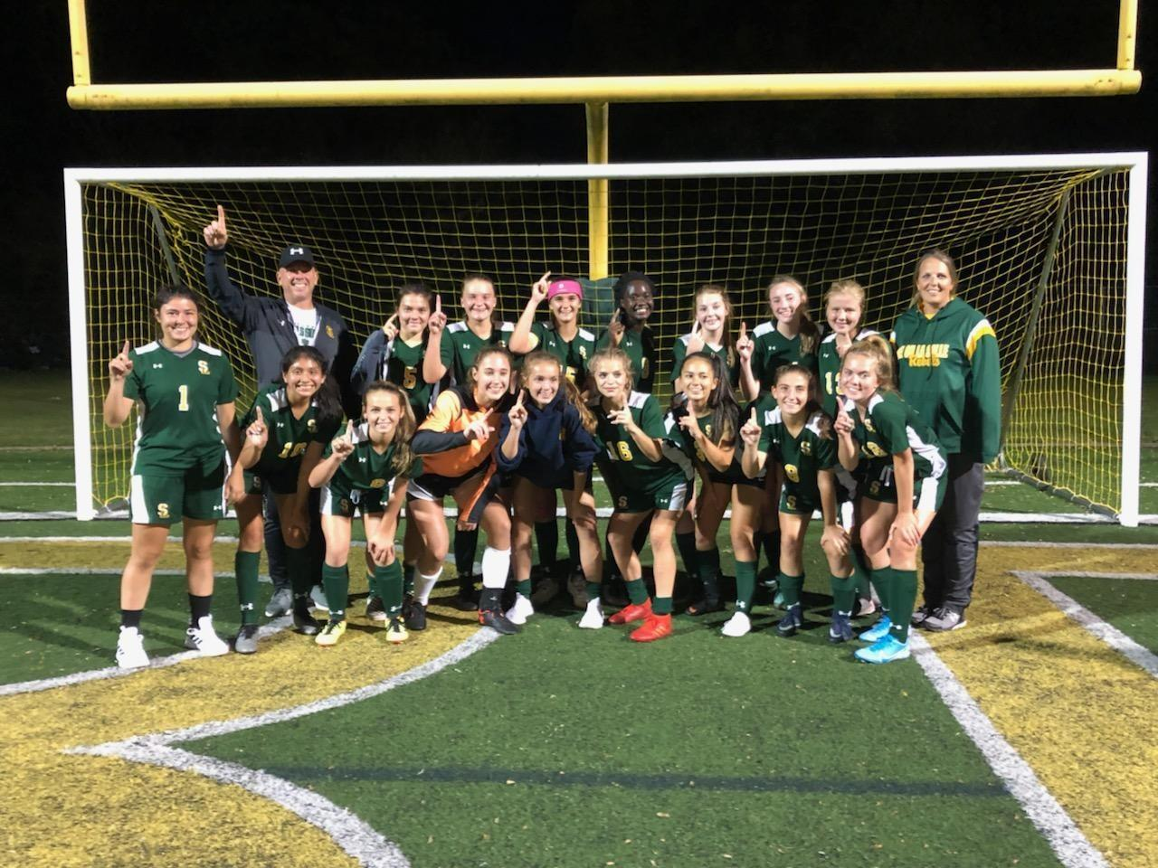 Girls Soccer 2019 Section Champions