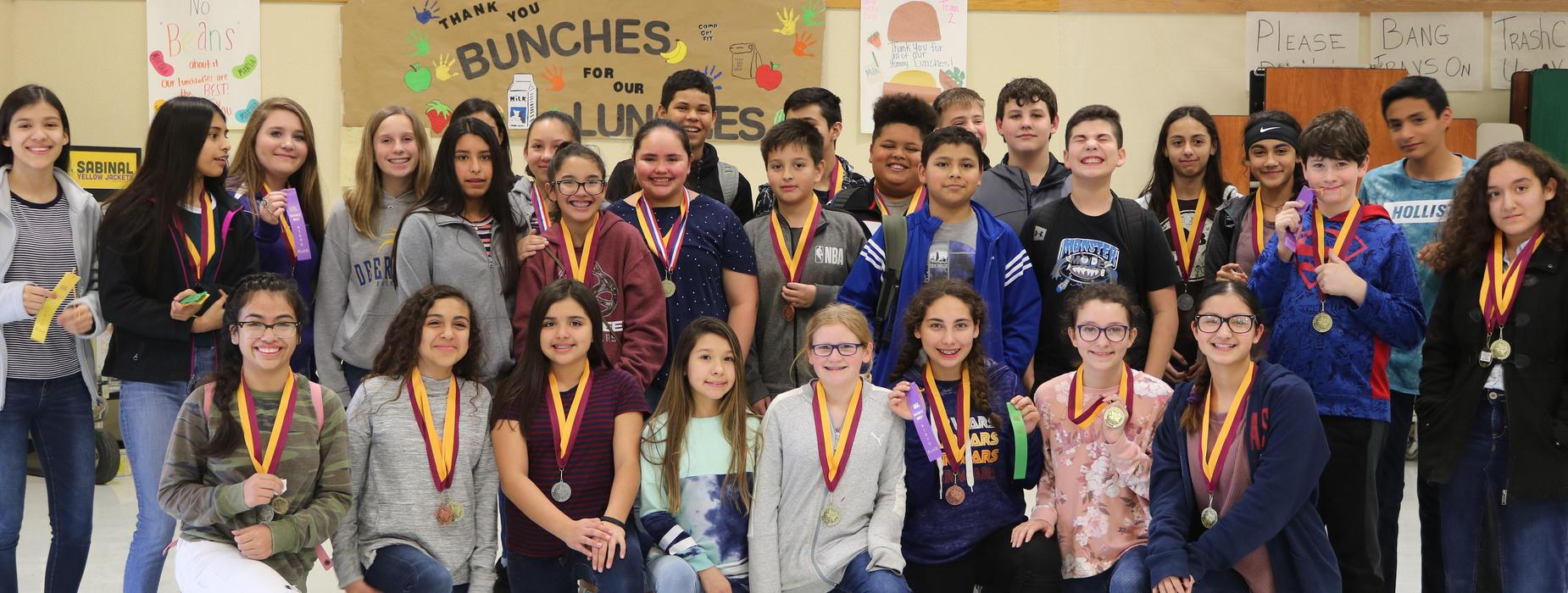 Photo of UIL winners.