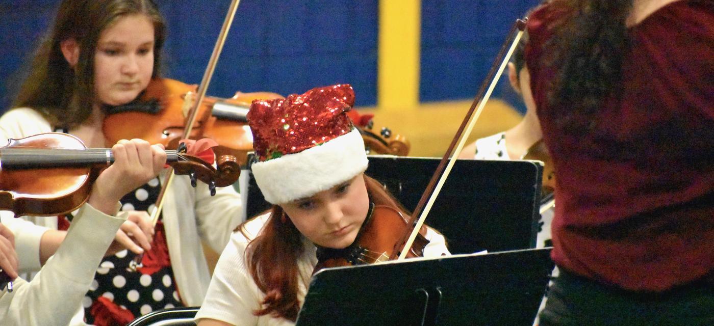 Holiday violin