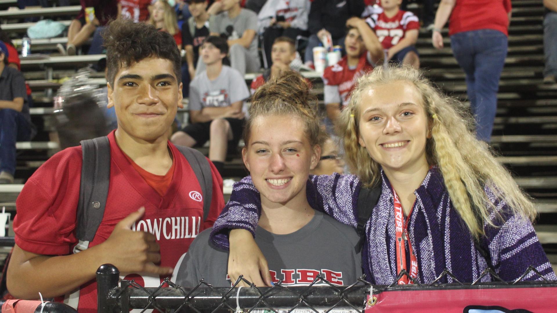 Students enjoying Chowchilla High School events.