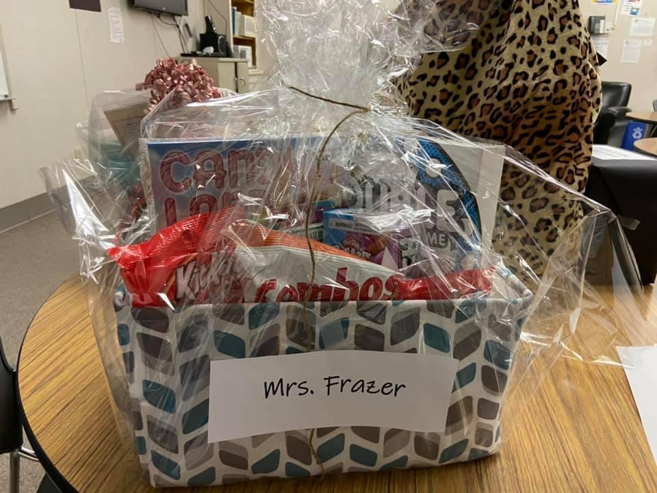 Mrs. Frazer's Game Night Basket 1