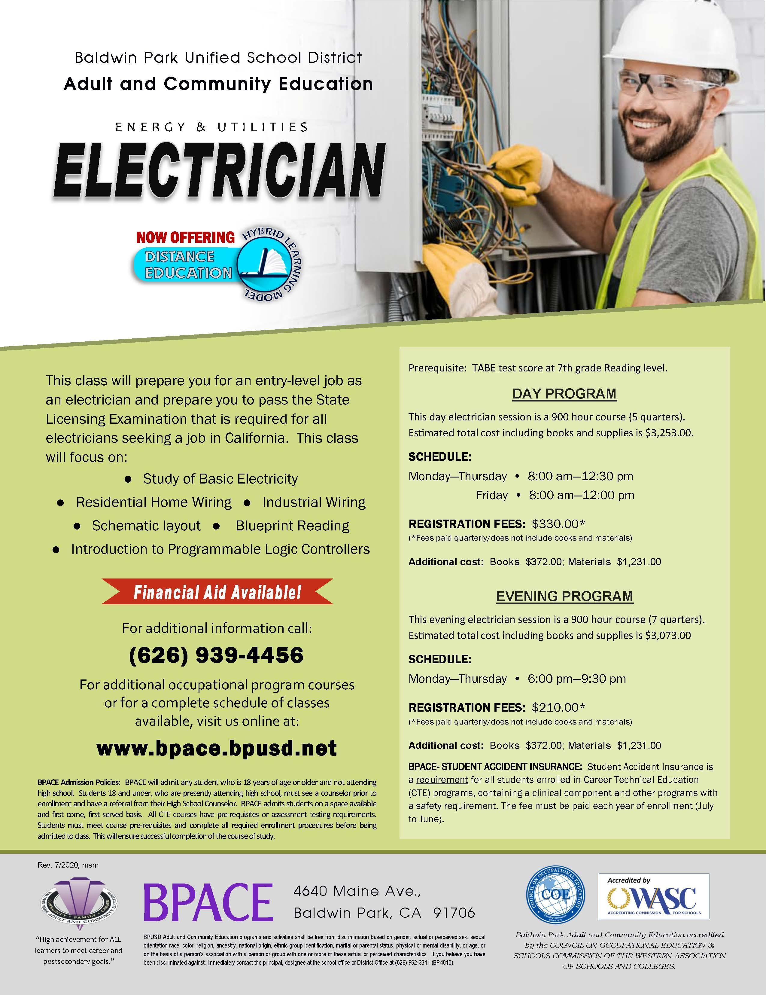 Electrician Flyer