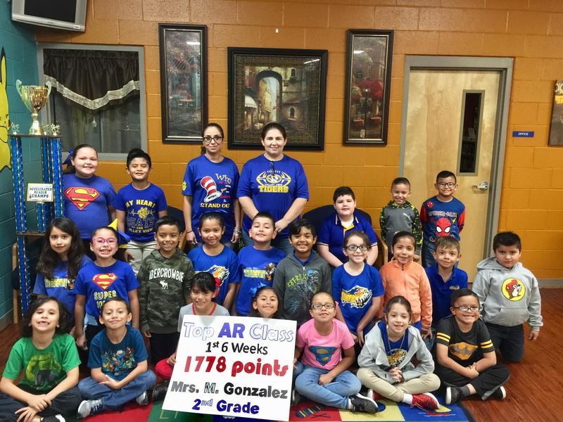Congratulations Mrs. M. Gonzalez! Thumbnail Image