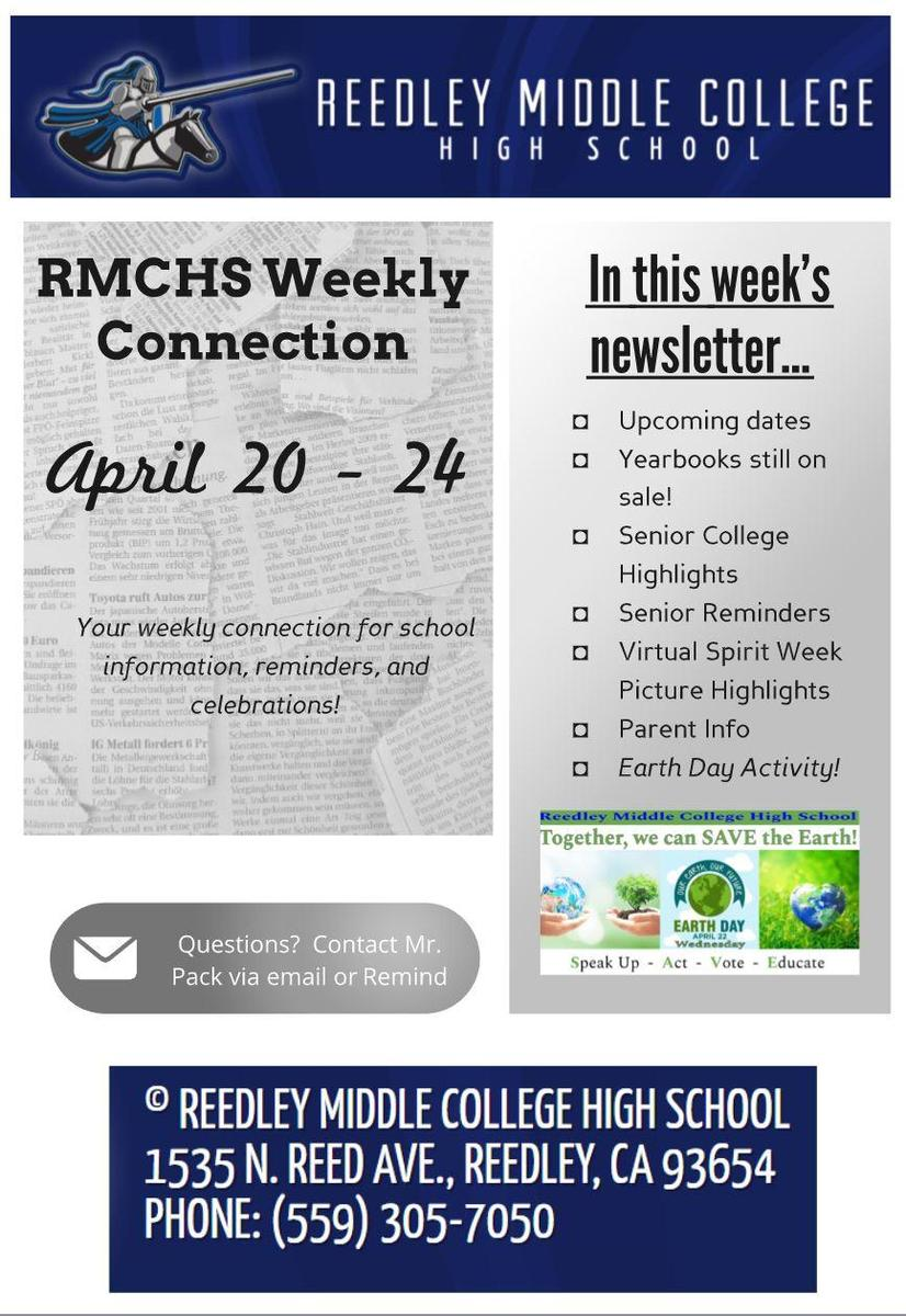 Picture of front page of newsletter thumbnail