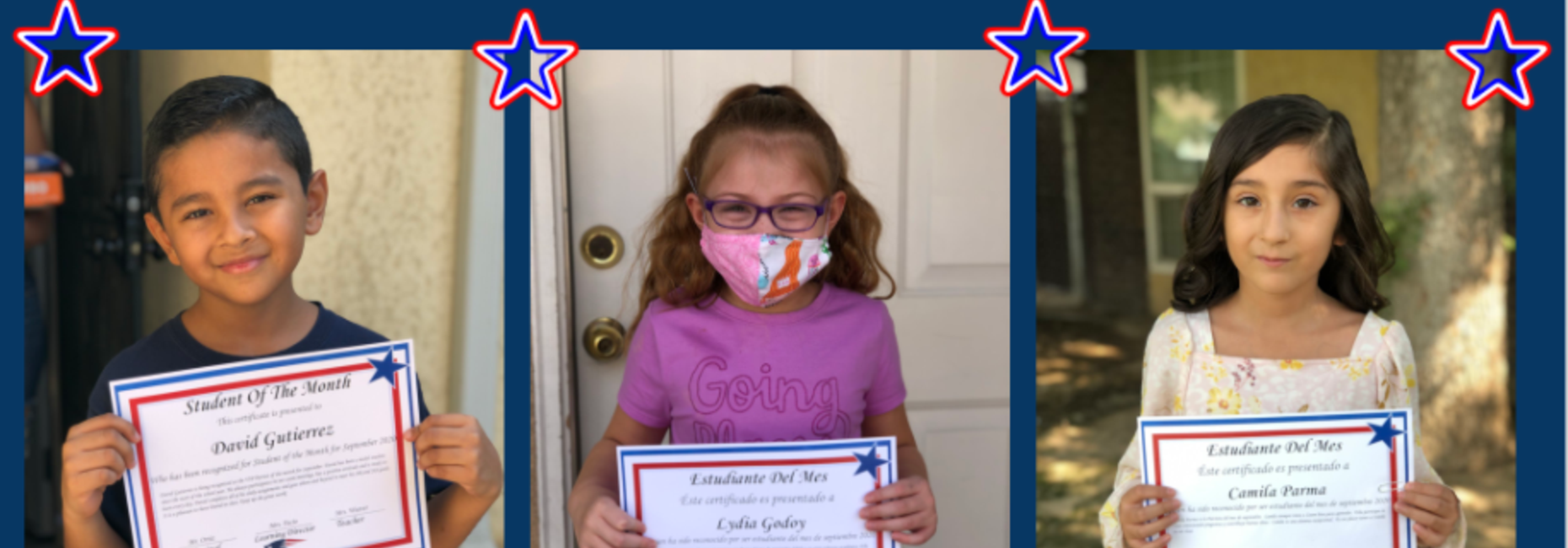 SEPTEMBER PATRIOT OF THE MONTH