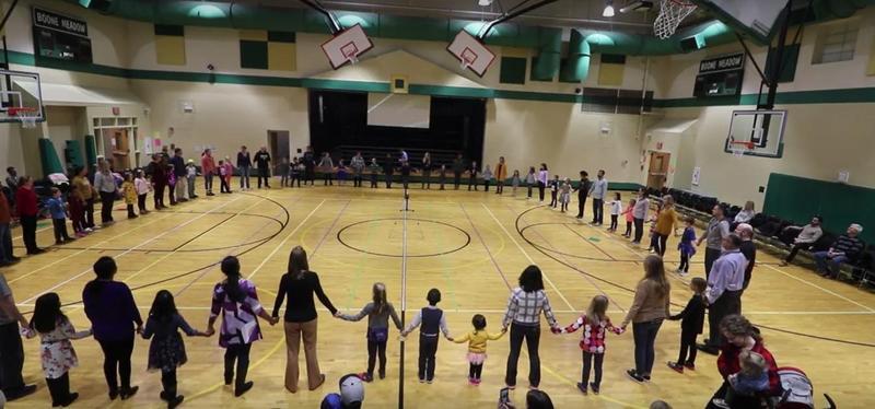 Second Grade Family Folk Dance Night
