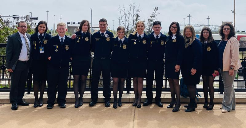 Bristow FFA Boasts Successful Year Featured Photo