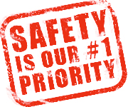 Graphic - Safety is our #1 Priority