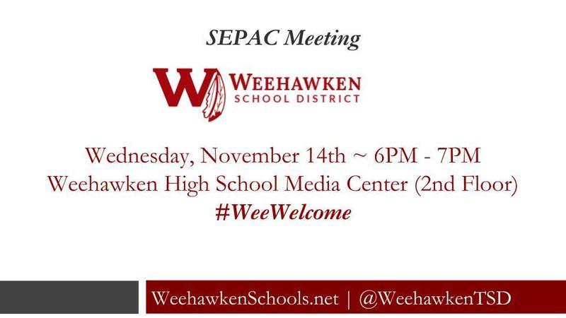 SEPAC Meeting ~ 11/14/18