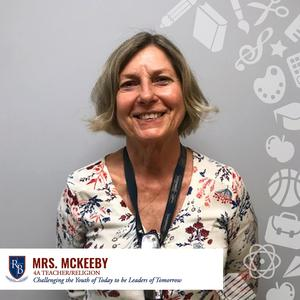 Picture of 4A teacher Mrs. McKeeby