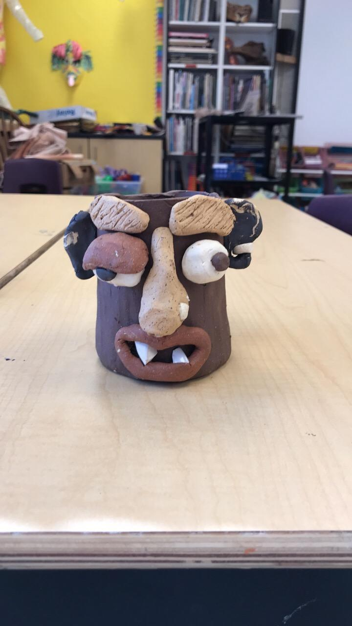 Ugly Mugs! A 5th grade project