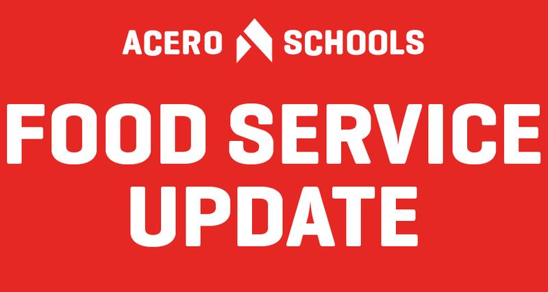 food service update