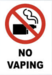 No vaping on campus